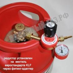 Редуктор БПО-5-5 Al с манометром, ПТК, Россия
