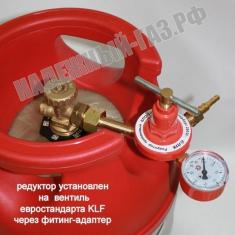 Редуктор БПО-5-5 с манометром, ПТК, Россия