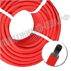 Рукав газовый, диаметр 9мм, красный (Iкл.)