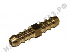 Соединитель для газовых резиновых шлангов LPG (пропан-бутан) N2170