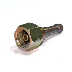 Фитинг на вентиль газового баллона с фильтром и защитой от пламени, 9мм, Россия.