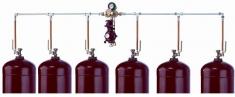Переходник GOK для газобаллонной установки на трубках, тип 0250714