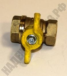 Кран шар. газ. 11Б27П (1,6 МПа)
