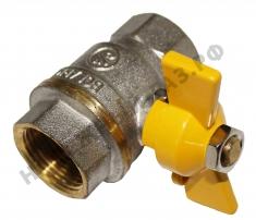 Кран шар.газ 11Б27П1 (4,2 МПа) Bolarm, никелир.,