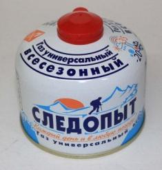 Одноразовый газовый баллон для портативных газовых приборов 230г., Россия